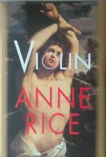 Anne Rice Book: VIOLIN: Signed 1st US Hardcover Edition