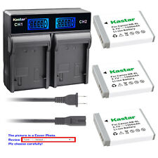 Kastar Battery LCD Rapid Charger for Canon NB-6LH CB2LY Canon PowerShot SX500 IS