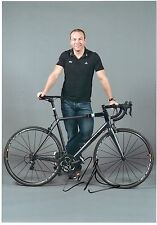CHRIS HOY - Signed 12x8 Photograph - SPORT - CYCLING