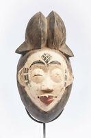 AW7 Punu Maske alt Afrika / Masque bantou ancien / Old tribal african bantu mask