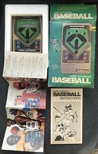 Vintage 1978 Mattel Electronics BASEBALL Handheld Pocket Arcade Video Game & Box