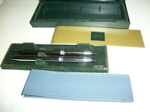 Vintage Cross Classic Blue  Ballpoint Pen & 0.5 Pencil Set - 354105