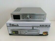 Block CVR-10 HiFi CD Internet Receiver Streamer DAB Internet Radio silber NEU