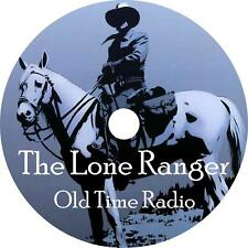 The Lone Ranger Old Time Radio Shows OTR 2350+ Episodes on 2 MP3 DVDs Free Ship