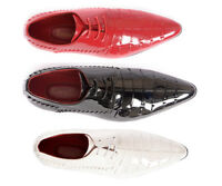 Mens New  Retro Leather, Lined Patent Party Formal Dress Wedding Shoes (PZ3)