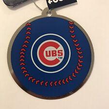 Chicago Cubs Holiday Christmas Tree Ornament NEW MLB Baseball