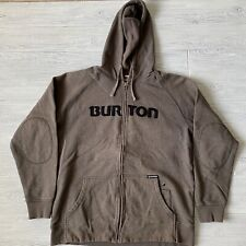 Burton sweatshirt zip Jacket Mens Size XL