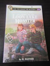 Hawkeye Collins & Amy Adams in The Secret of the Loon Lake Monster 1984 PB 1st