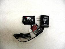 Black + And Decker Battery Charger For 18 V 18 Volt Slide Type Batteries