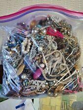 Lot Of Broken Craft Jewelry Junk Harvest Repair 5+ Lbs