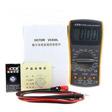 Victor Vc830l Digital Multimeter Electrical Appliances Volt Amp Ohm Tester