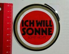 Aufkleber/Sticker: LUCKY STRIKE - Ich will Sonne sonst nichts (230516155)
