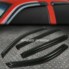 FOR 04-08 F150 SUPER CREW SMOKE TINT WINDOW VISOR/WIND DEFLECTOR VENT RAIN GUARD
