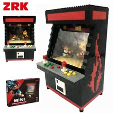 ZRK Street Fighter Game Machine DIY Mini Building Block Nano Block Toy Kids Fun