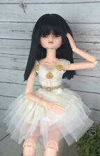 "8-9 Custom Doll Wig fits 1/3 SD BJD, Wellie Wisher... ""Lill Sophie Choice  bn1"