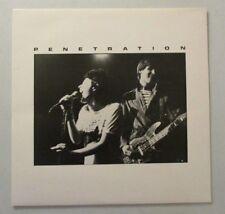 PENETRATION  DEMOS / LIVE  RACE AGAINST TIME RARE LP 1979 EXC