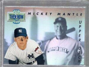 1993 Upper Deck Then & Now Mickey Mantle #TN17