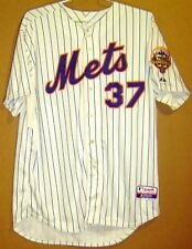 NEW YORK METS #37 SULLIVAN 2012 WHITE PINSTRIPE AUTHENTIC JERSEY