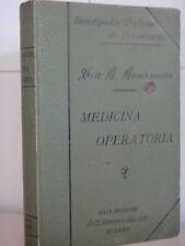 1902 circa-MEDICINA OPERATORIA-Dott.GIOVANNI GAMBAROTTA-VETERINARIA+
