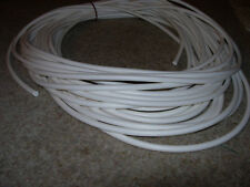 rubber silicone cord,o ring  white  5mm x 1M