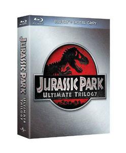 Jurassic Park Trilogy (Blu-ray, 2011, 6-Disc Set)