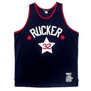 Stall & Dean Replica Basketball Jersey - 1975 Rucker - NWT 3XL