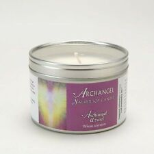 Archangel Azrael Aromatherapy Vegan Natural Fragranced Sacred Soy Wax Candle