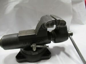 """Wilton Bullet Vise 450, 4-1/2"""" Jaws with Swivel Base USA Made"""