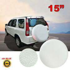 "15"" NEW Spare Wheel Tire Cover White For Toyota Land Cruiser Tire Cover 28"" 29"""