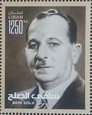 Lebanon 2018 NEW MNH Stamp - Sami Solh