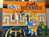 "PRINT Treasure Paintings JR Bissell: ""The Michael Coste Hermes Painting"" Pirate"