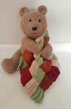 Brown Toy Bear Knitting Pattern