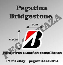 Pegatina Bridgestone Sticker Vinilo Adhesivo motor, coche, moto, rueda