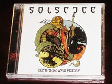 Solstice: Death's Crown Is Victory EP CD 2016 Dark Descent Records DDR165CD NEW