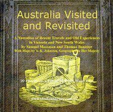 CD - Gold - Australia Visited & Re-Visited - 20 eBooks, Some Maps