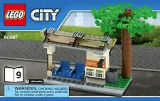 LEGO City Tram Bus Stop / Travel Ticket Sales Train Station Idea From Set 60097