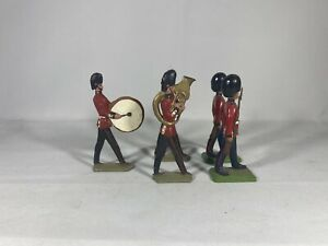 Britains Limited England Military Palace Grenadier Guard Marching Band 5 Figures