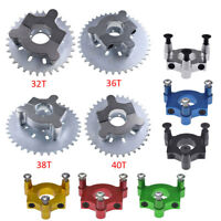 "32T-40T Sprocket & 1.5"" Adapter For 49cc 66cc 80cc 2 Stroke Motorized Bike"