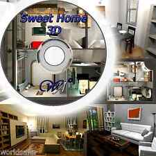 3D Kitchen Designer home design software 2D/3D PC DVD-ROM NEW +P&P