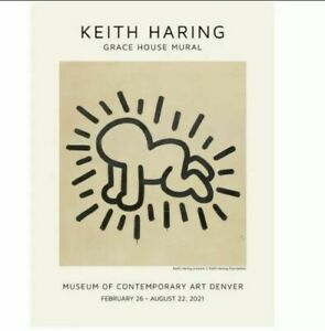 Keith Haring : Grace House Poster 61 × 45.5 cm Limited Edition Radiant Baby