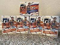 Lot of (5) 2020-2021 Panini Donruss NBA Basketball Blaster Box Factory Sealed
