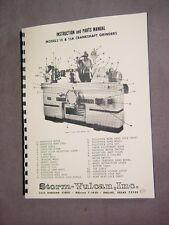 Storm Vulcan 15 & 15A Crankshaft Grinder Manual