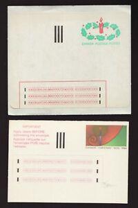 "1-ST 2-ST ""Stick 'n Tic"" experimental XMAS labels - 1983 - 1984  -  superfleas"