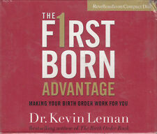 Dr Kevin Leman First F1rst Born Advantage 4CD Audio Book NEW* Making Birth Work