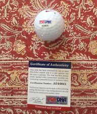 Tj Oshie Signed Golfball