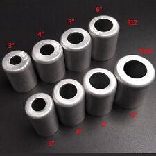 100pcs R12 R134 3/8'' 1/2'' 5/8'' 3/4'' Aluminium Crimp Ferrule  joint/A/C Hose