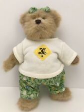 """Boyds Bear Collectible Baby on Board Retired! Stuffed Animal 8"""""""