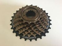 Shimano Tourney MF-TZ21 Mulitple 7 Speed Freewheel Sprocket 14-28T SCREW ON TYPE