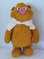 Vintage 1976 Muppets Fozzy Bear Plush Toy Stuffed *no hat*