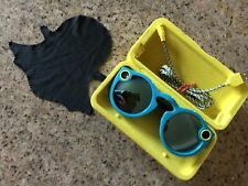 Snapchat Spectacles in Teal Blue - Perfect Condition